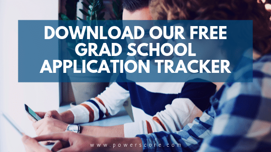 PowerScore Free Grad School Application Tracker