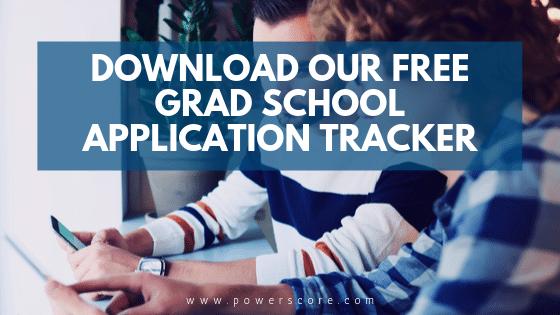 PowerScore Free Grad School Application Tracker