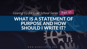Gearing Up for Grad School Series Part 6