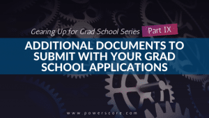 Gearing Up for Grad School Series Part 9