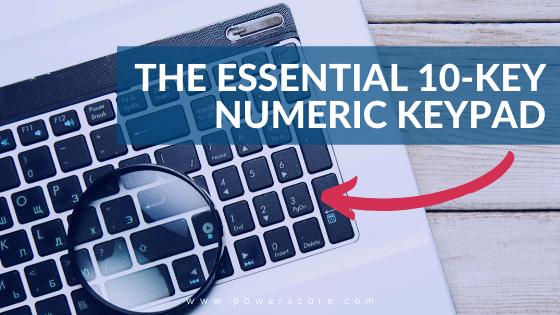 The Essential 10-Key Numeric Keypad