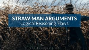 Straw Man Arguments Logical Reasoning Flaws