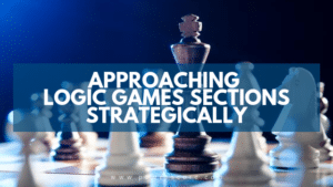 Approaching Logic Games Sections Strategically