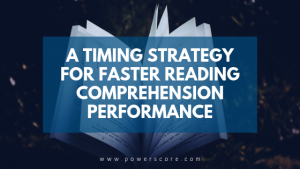 A Timing Strategy for Faster Reading Comprehension Performance