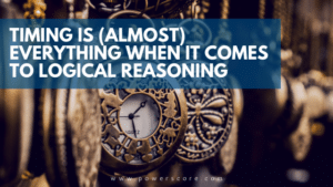 Timing is (Almost) Everything When it Comes to Logical Reasoning