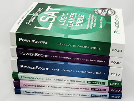 LSAT Books Versus