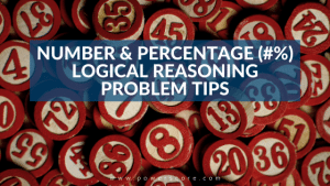 Number and Percentage LR Problem Tips % #