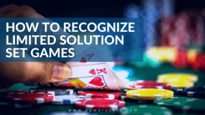 How to Recognize Limited Solution Set Games