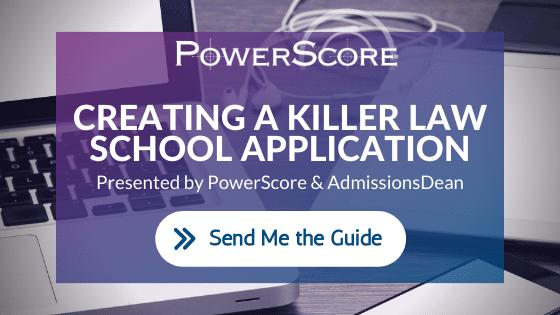 PowerScore Law School Application Guide CTA