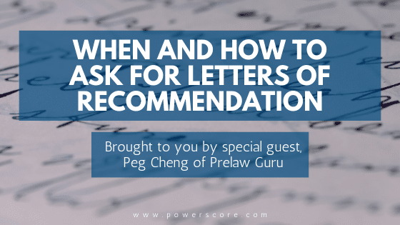When and How to Ask for Letters of Recommendation