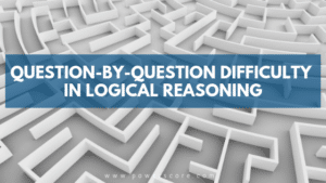 Question-by-Question Difficulty in Logical Reasoning