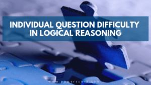 Individual Question Difficulty in Logical Reasoning