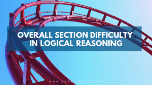 Overall Section Difficulty in Logical Reasoning
