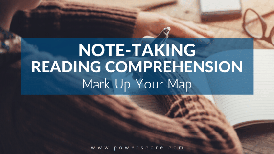 Note-Taking Reading Comprehension: Mark Up Your Map