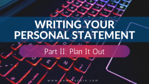 Personal Statement 02, Plan It Out