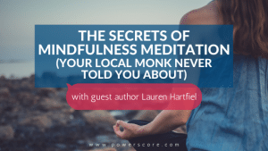 The Secrets of Mindfulness Meditation (Your Local Monk Never Told You About)
