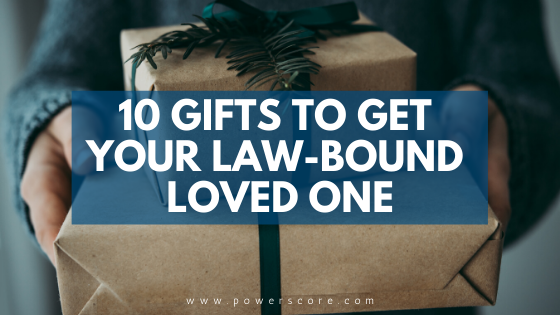 10 Gifts to Get Your Law-Bound Loved One