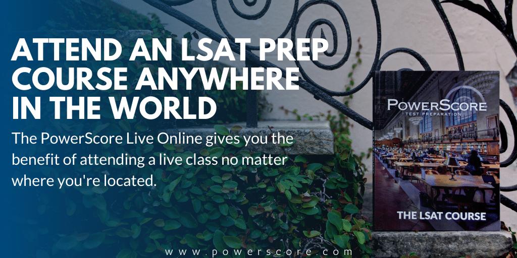 Live Online LSAT Course CTA
