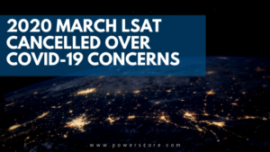 2020 March LSAT Cancelled Over Covid-19 Concerns