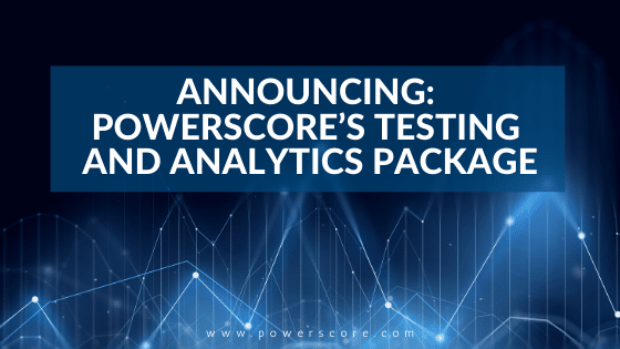 PowerScore's Testing and Analytics Package