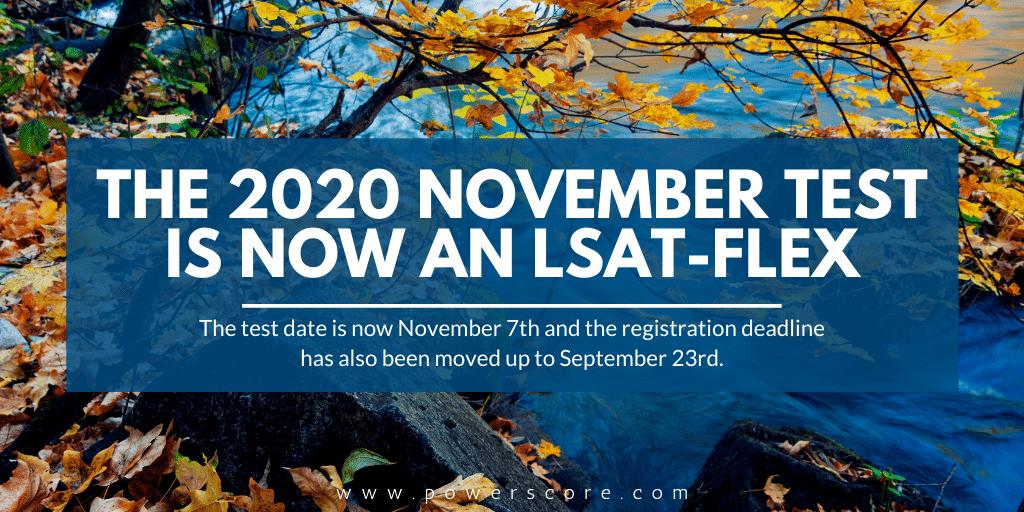 November 2020 LSAT Update