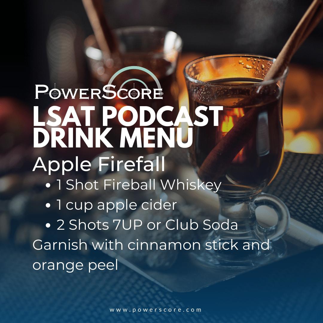 LSAT Podcast October Flex Drink
