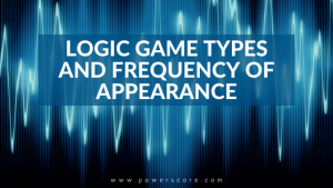 Logic Game Types and Frequency of Appearance