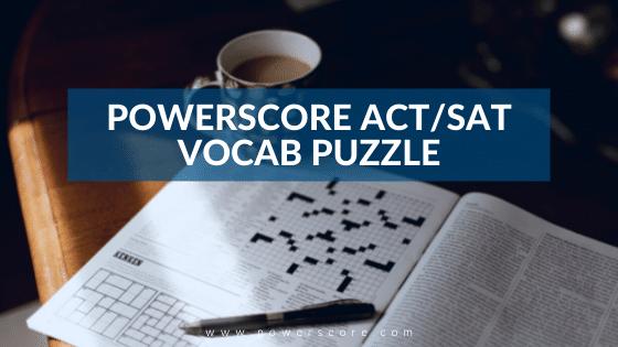 Vocab Puzzle Header