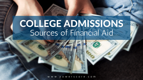 College Admissions Sources of Financial Aid